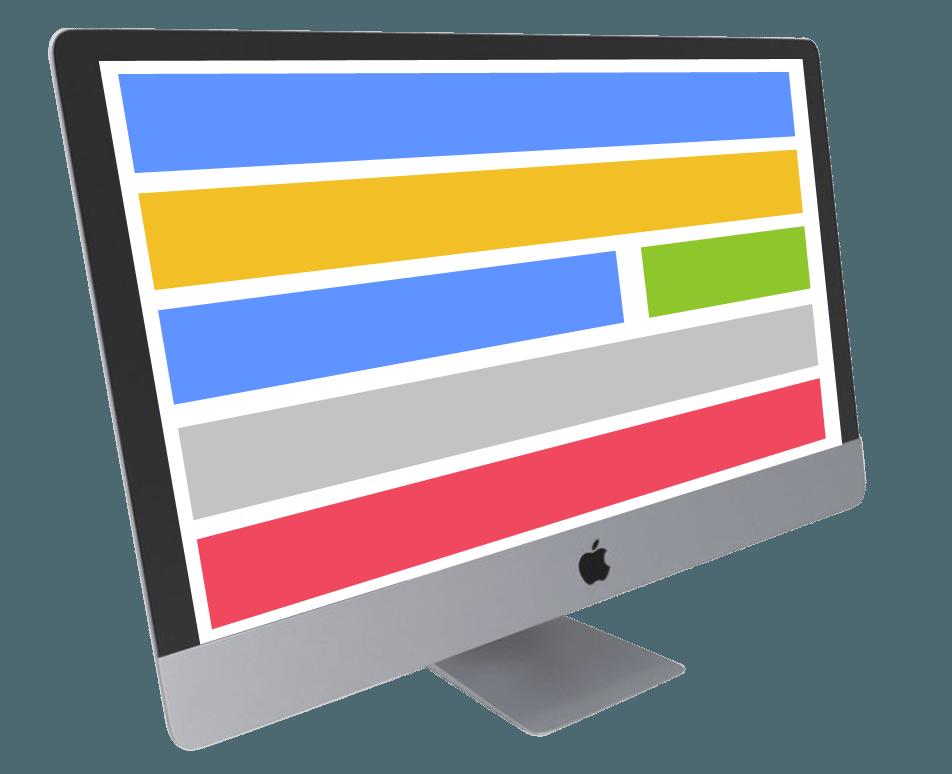 web design imac